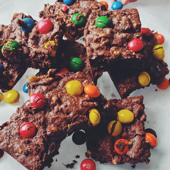 Double Chocolate Peanut ButterBrownies
